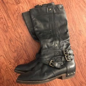 Dolce Vita Western Motorcycle Black Boots 7.5